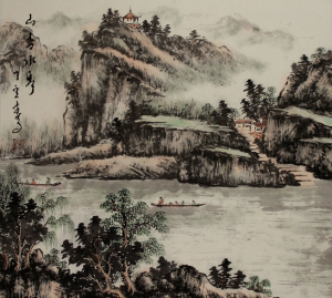mists of china painting